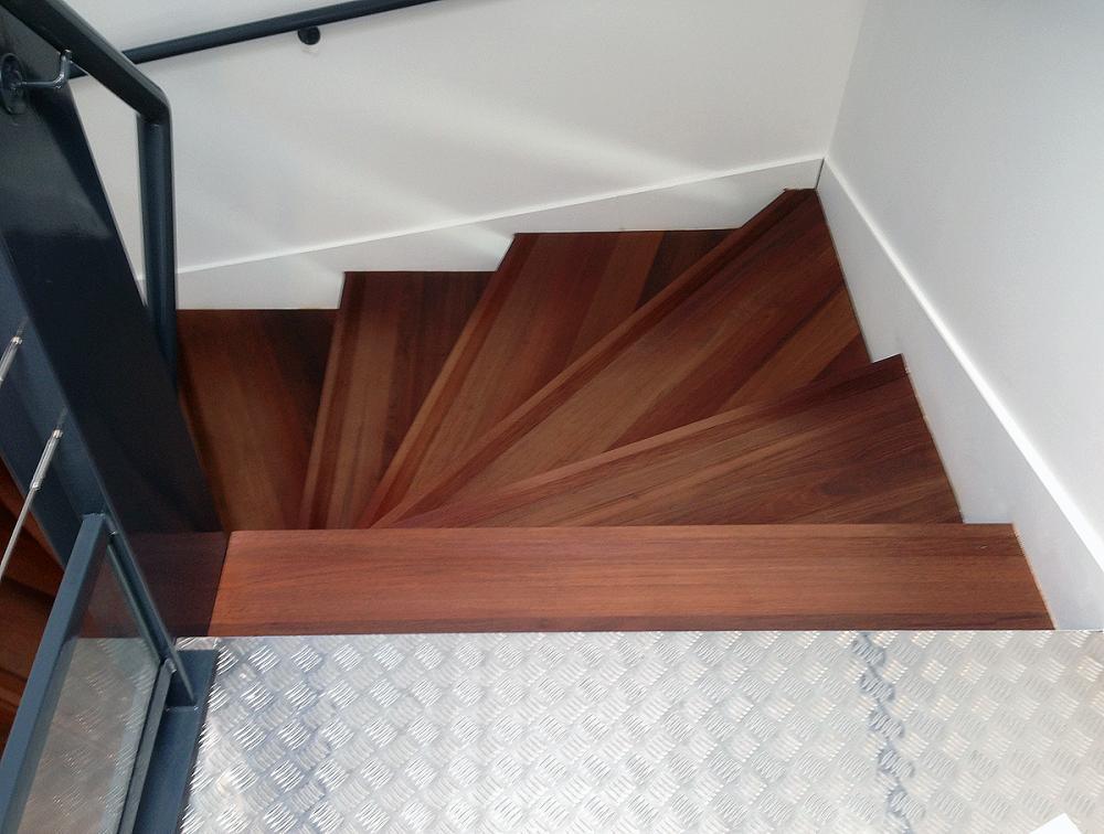 Menuiserie intérieure : escalier